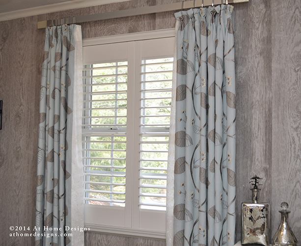 Custom Window Treatments At Home Designs