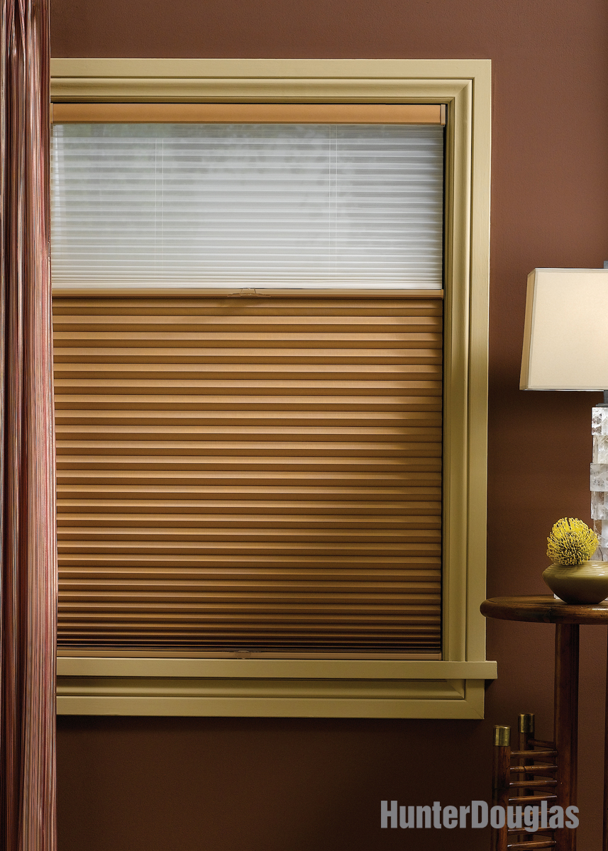 Duette honeycomb shades for Window shades