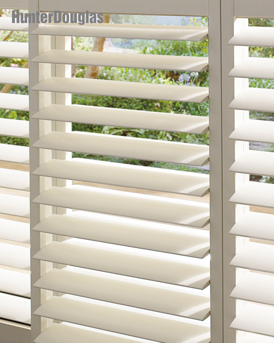 Hunter Douglas Palm Beach Polysatin Shutters In Wilmington De