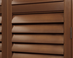 Hunter Douglas Newstyle Hybrid Shutters Close Up